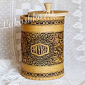 Для дома и интерьера handmade. Livemaster - original item Bank from a birch bark large