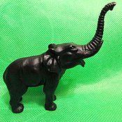 Винтаж handmade. Livemaster - original item Collectible Figurine Elephant Vintage Style Kasli Cast Iron. Handmade.