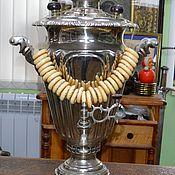 Винтаж handmade. Livemaster - original item Samovar Vintage factory 1 cooperative artel Glass 7-8 liters. Handmade.