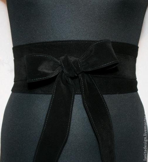 """Пояса, ремни ручной работы. Пояс-кушак """"Black Romantic"""". Lanita Design. Ярмарка Мастеров."""
