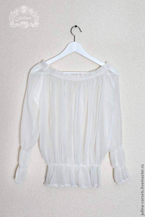 """Блузки ручной работы. Ярмарка Мастеров - ручная работа. Купить Блузка """"Нежность"""". Handmade. Свадебный наряд, летняя блуза, винтаж"""