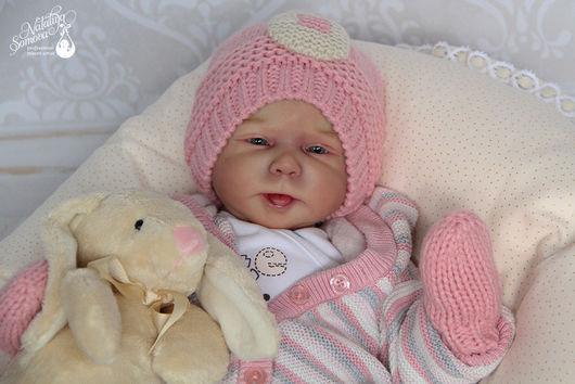 Куклы-младенцы и reborn ручной работы. Ярмарка Мастеров - ручная работа. Купить Любава. Handmade. Розовый, cathy, фланель