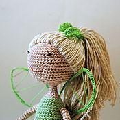 """Куклы и игрушки ручной работы. Ярмарка Мастеров - ручная работа Вязаная кукла """"Фея зелени"""". Handmade."""