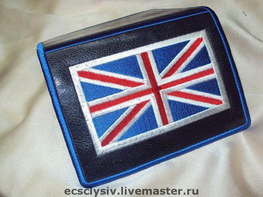 """Обложки ручной работы. Ярмарка Мастеров - ручная работа. Купить Обложка для паспорта  """"Британский флаг"""". Handmade. Обложка, авторская обложка"""