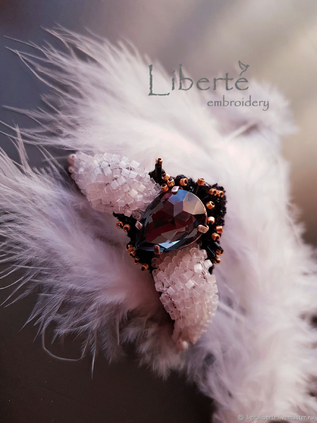 Cocktail ring from the collection ' Winter Tango', Rings, Riga,  Фото №1
