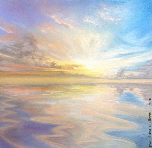 `Путь к мечте` Картина пастелью Екатерина Пятакова