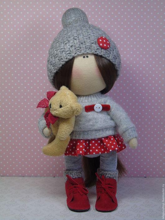 Коллекционные куклы ручной работы. Ярмарка Мастеров - ручная работа. Купить Текстильная кукла Бетти. Handmade. Текстильная кукла