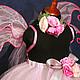 """Карнавальные костюмы ручной работы. """"Фея розовой дымки"""" карнавальный костюм пачка, крылья, ободо. PartyMask. Ярмарка Мастеров."""
