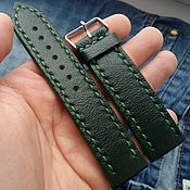 Аксессуары handmade. Livemaster - original item Watchband green. Handmade.