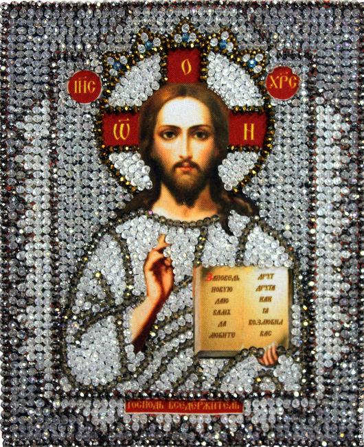 Набор `Образа в каменьях` икона Господь Вседержитель