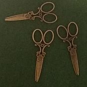 Материалы для творчества handmade. Livemaster - original item Scissors decorative. Handmade.