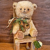 Куклы и игрушки ручной работы. Ярмарка Мастеров - ручная работа МИШКА (есть выкройка). Handmade.