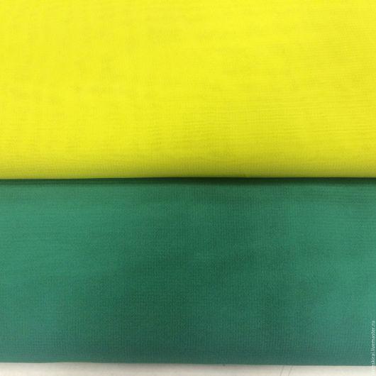 Шитье ручной работы. Ярмарка Мастеров - ручная работа. Купить Ткань шифон. Handmade. Зеленый, ткань для шитья, шифоновая юбка