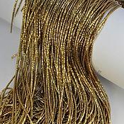 Канитель ручной работы. Ярмарка Мастеров - ручная работа Трунцал Темное золото, 5 гр, 1 мм. Handmade.