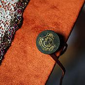"""Канцелярские товары ручной работы. Ярмарка Мастеров - ручная работа Книга ручной работы """"Рыжая осень"""". Handmade."""