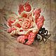 """Кольца ручной работы. Кольцо """"Розочка"""". .......TextileArt......  Елена Ост. Интернет-магазин Ярмарка Мастеров. Кольцо, фламинго, романтика"""