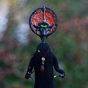 Дух-помощник ручной работы. Ярмарка Мастеров - ручная работа Дух-помощник: Солнцебык. Готическая кукла. Handmade.