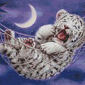 Картины ручной работы. Ярмарка Мастеров - ручная работа Сон в лунную ночь. Handmade.