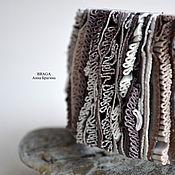 Украшения ручной работы. Ярмарка Мастеров - ручная работа Браслет в бохо стиле с рюшами.. Handmade.