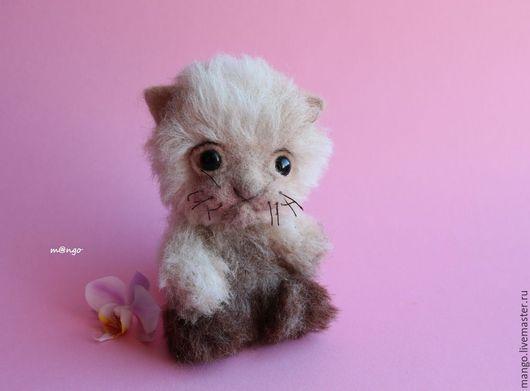 Котик Чубака в технике тедди. В наличии.