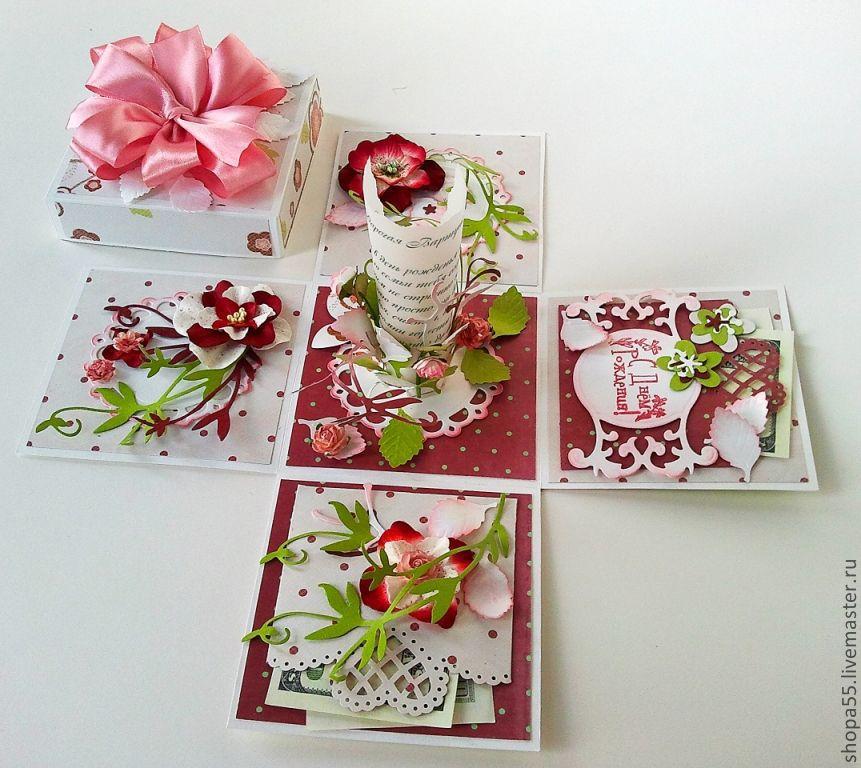 Коробочки для подарка в скрапбукинге