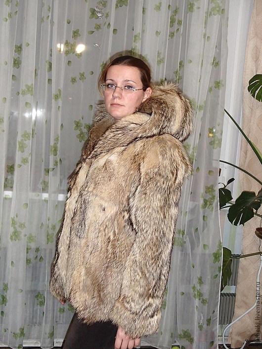 Верхняя одежда ручной работы. Ярмарка Мастеров - ручная работа. Купить Шуба из гималайского волка. Handmade. Мех, полушубок, волк