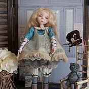 """Куклы и игрушки ручной работы. Ярмарка Мастеров - ручная работа Кукла в смешанной технике """" ALICE № 6"""". Handmade."""