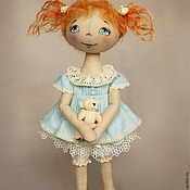 Материалы для творчества ручной работы. Ярмарка Мастеров - ручная работа Набор для шитья кукол Ксюша набор для изготовления куклы. Handmade.