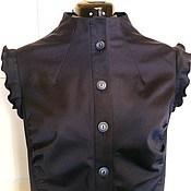 Одежда handmade. Livemaster - original item Tatiana Safari dress S M L XL XXL / black. Handmade.