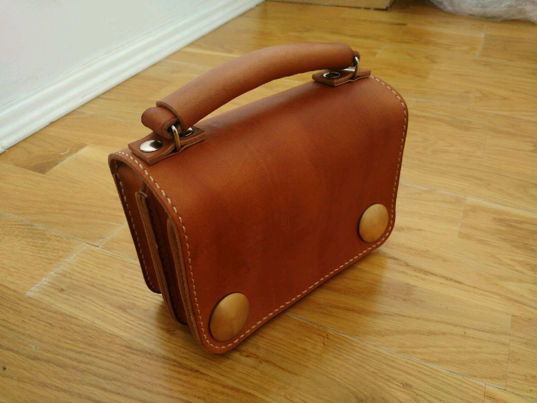 b47f9baf4381 Мужские сумки ручной работы. Ярмарка Мастеров - ручная работа. Купить  Барсетка кожаная мужская сумка ...