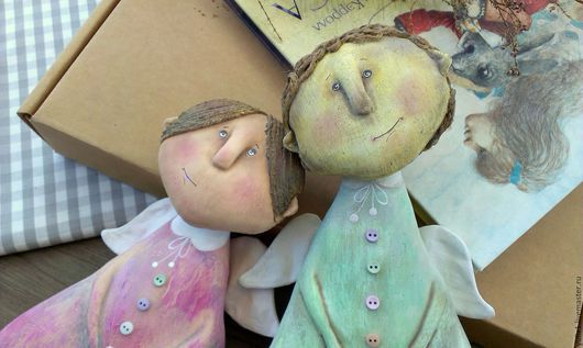 Коллекционные куклы ручной работы. Ярмарка Мастеров - ручная работа. Купить Эмили и Николя. Handmade. Разноцветный, подарок, девочка
