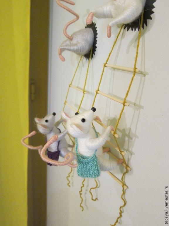 Мышки на холодильник своими руками 744