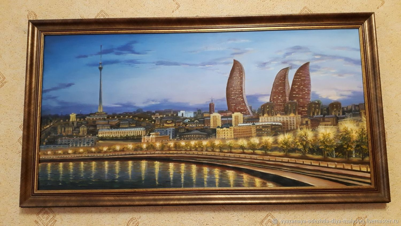 Вечерний Баку, Картины, Иваново,  Фото №1