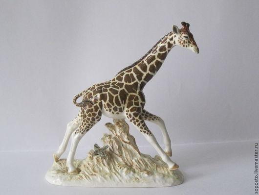 Статуэтки ручной работы. Ярмарка Мастеров - ручная работа. Купить Бегущий жираф. Handmade. Скульптура, африка