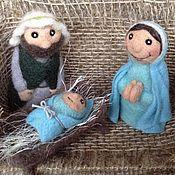 Куклы и игрушки ручной работы. Ярмарка Мастеров - ручная работа Пальчиковый театр Вертеп. Handmade.