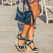 Обувь ручной работы. Ярмарка Мастеров - ручная работа Туфли из натуральной кожи Fiona. Handmade.
