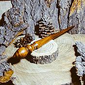 Материалы для творчества handmade. Livemaster - original item Spindles are Great for spinning cherry Wood spindle #B24. Handmade.