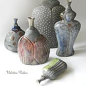 """Для дома и интерьера ручной работы. Ярмарка Мастеров - ручная работа керамические вазы """"Обитатели"""". Handmade."""