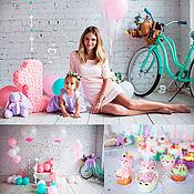 Подарки к праздникам ручной работы. Ярмарка Мастеров - ручная работа Праздничный набор на день рождения девочки. Handmade.