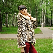 Одежда handmade. Livemaster - original item Coat tiger. Handmade.