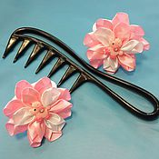 """Украшения ручной работы. Ярмарка Мастеров - ручная работа резинки для волос """"нежность"""". Handmade."""