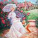 """Цветы ручной работы. Обруч """"Розовый сад"""". Tatiana Kovinska (zelady). Ярмарка Мастеров. Розы, шелкавая роза, бутоны, тафта"""