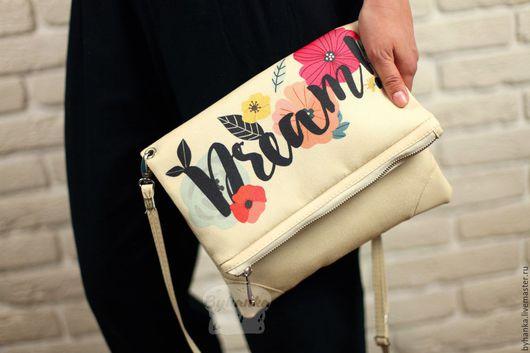 Женские сумки ручной работы. Ярмарка Мастеров - ручная работа. Купить Сумка. Handmade. Сумка из мешковины, необычная сумка