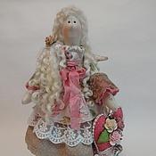 Куклы Тильда ручной работы. Ярмарка Мастеров - ручная работа Ангел домашнего уюта.. Handmade.
