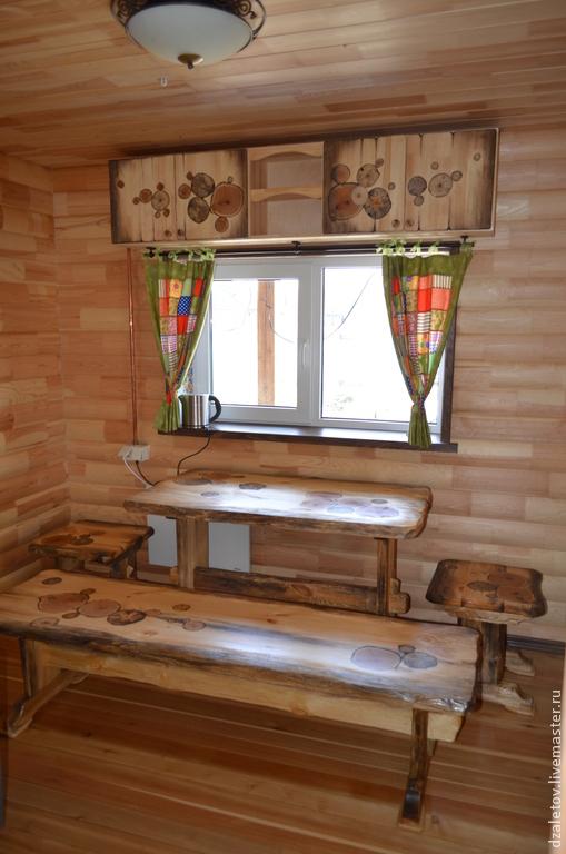 Банные принадлежности ручной работы. Ярмарка Мастеров - ручная работа. Купить мебель для бани. Handmade. Мебель для бани, табурет