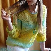 Одежда handmade. Livemaster - original item Women`s jacket knitted