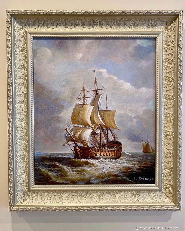 Картина «Корабль», Картины, Москва,  Фото №1
