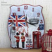 """Для дома и интерьера ручной работы. Ярмарка Мастеров - ручная работа """"Лондон"""" часы. Handmade."""