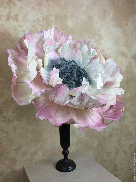 Свадебные цветы ручной работы. Ярмарка Мастеров - ручная работа. Купить Большие цветы из бумаги. Handmade. Свадебный букет, Декор