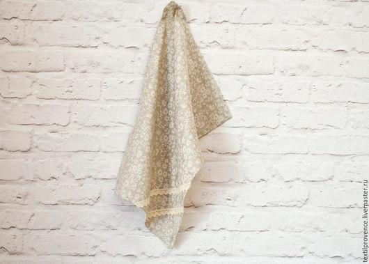 Кухня ручной работы. Ярмарка Мастеров - ручная работа. Купить Льняное полотенце для кухни, полотенце для рук. Handmade. Текстиль для кухни